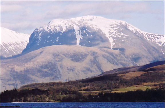 Ben Nevis in May